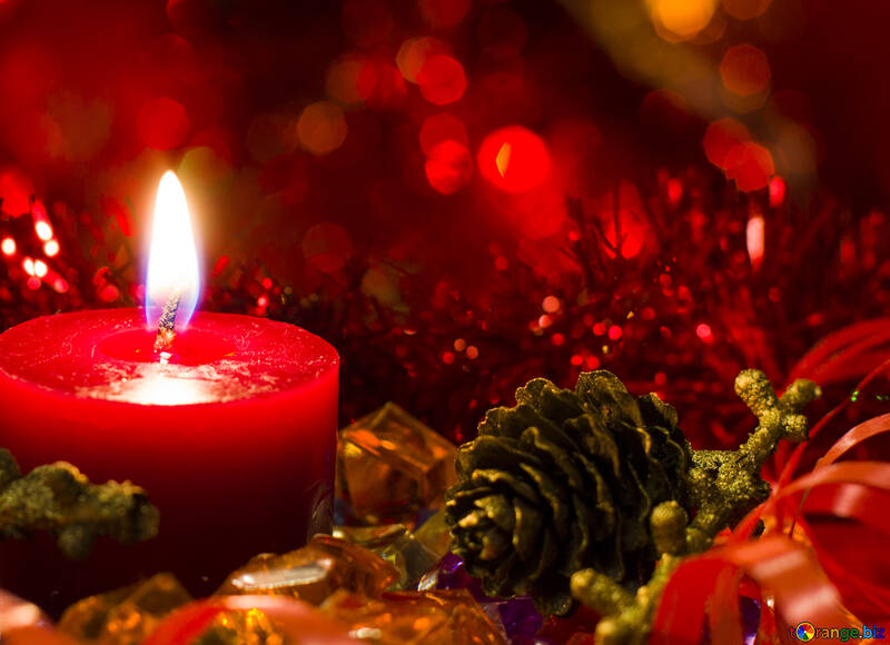 Festive candles №15065