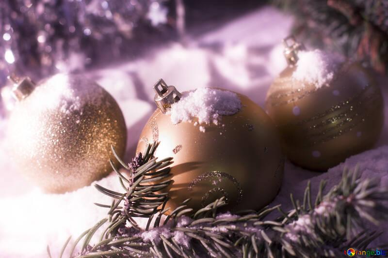 Verschneite Weihnachtskarte №15369