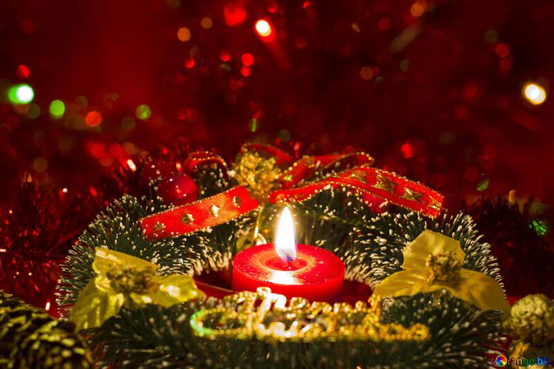 Рождественское украшение №15096