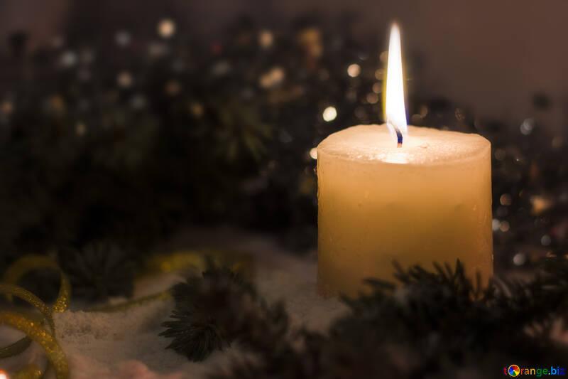 Заготовка для рождественского поздравления №15386