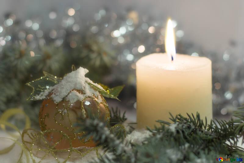 Рождественское снежное поздравление №15387