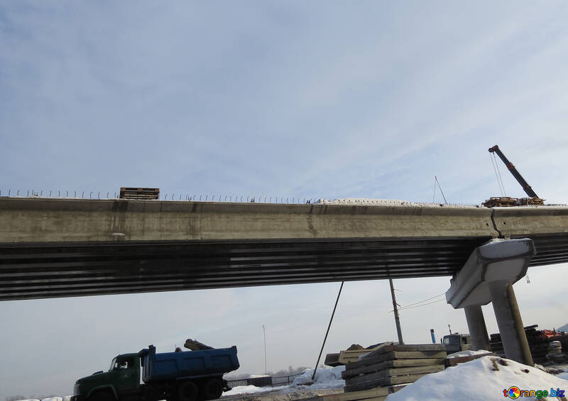 Construction of the overpass №15677