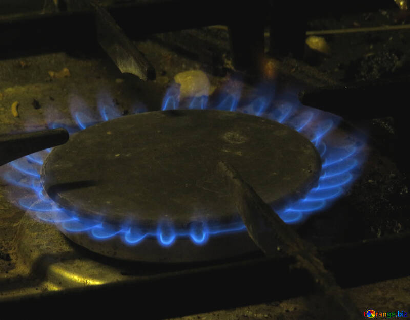 Gas on the stove №15542
