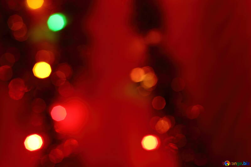 Red christmas background №15061