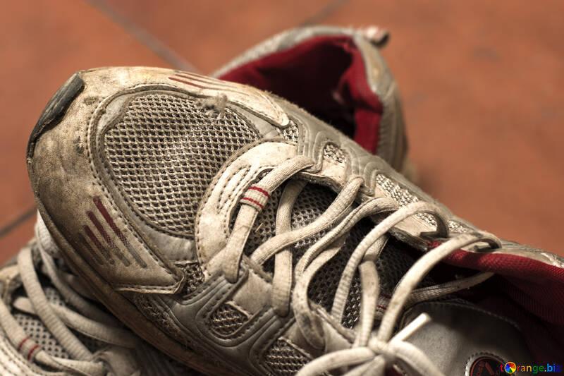Torn cheap shoes №15438