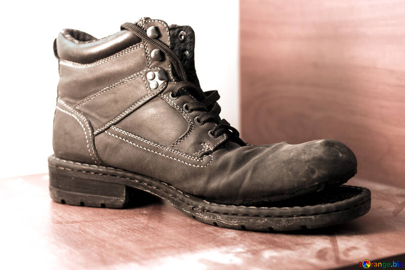 Large ragged shoes №15417