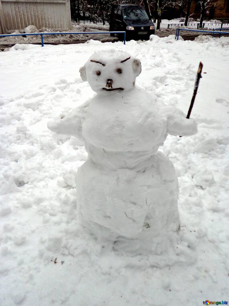 Sad Snowman №15654