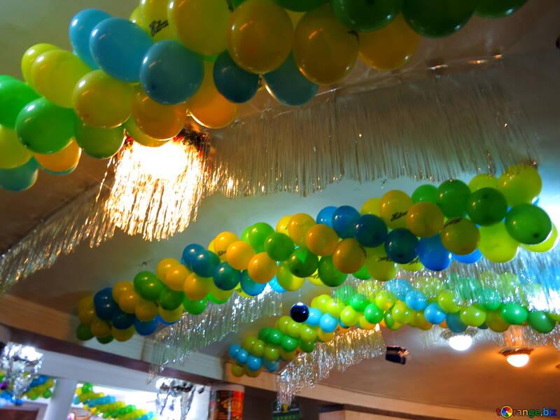 Garlands of beads №15885