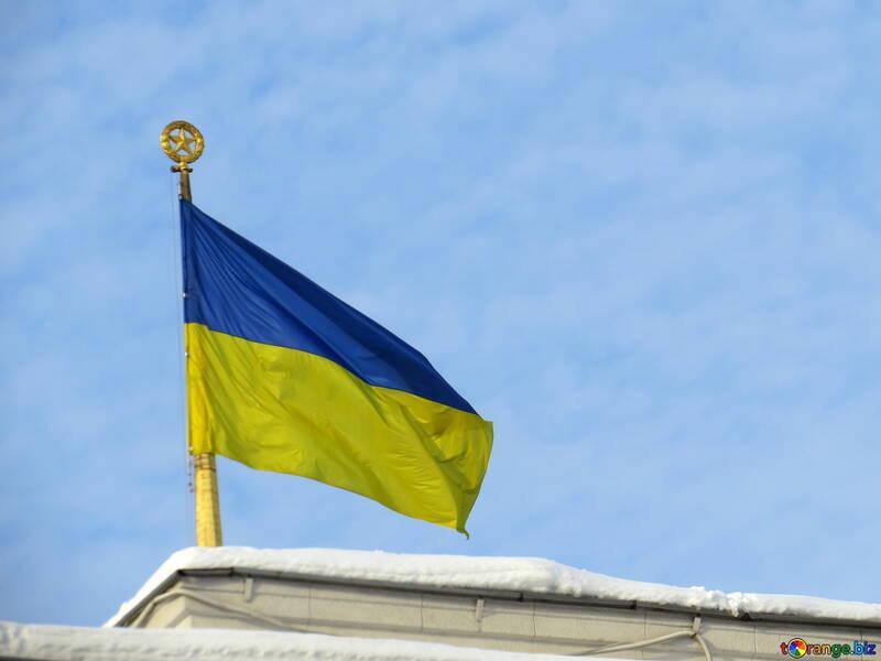 Украинский флаг  №15688
