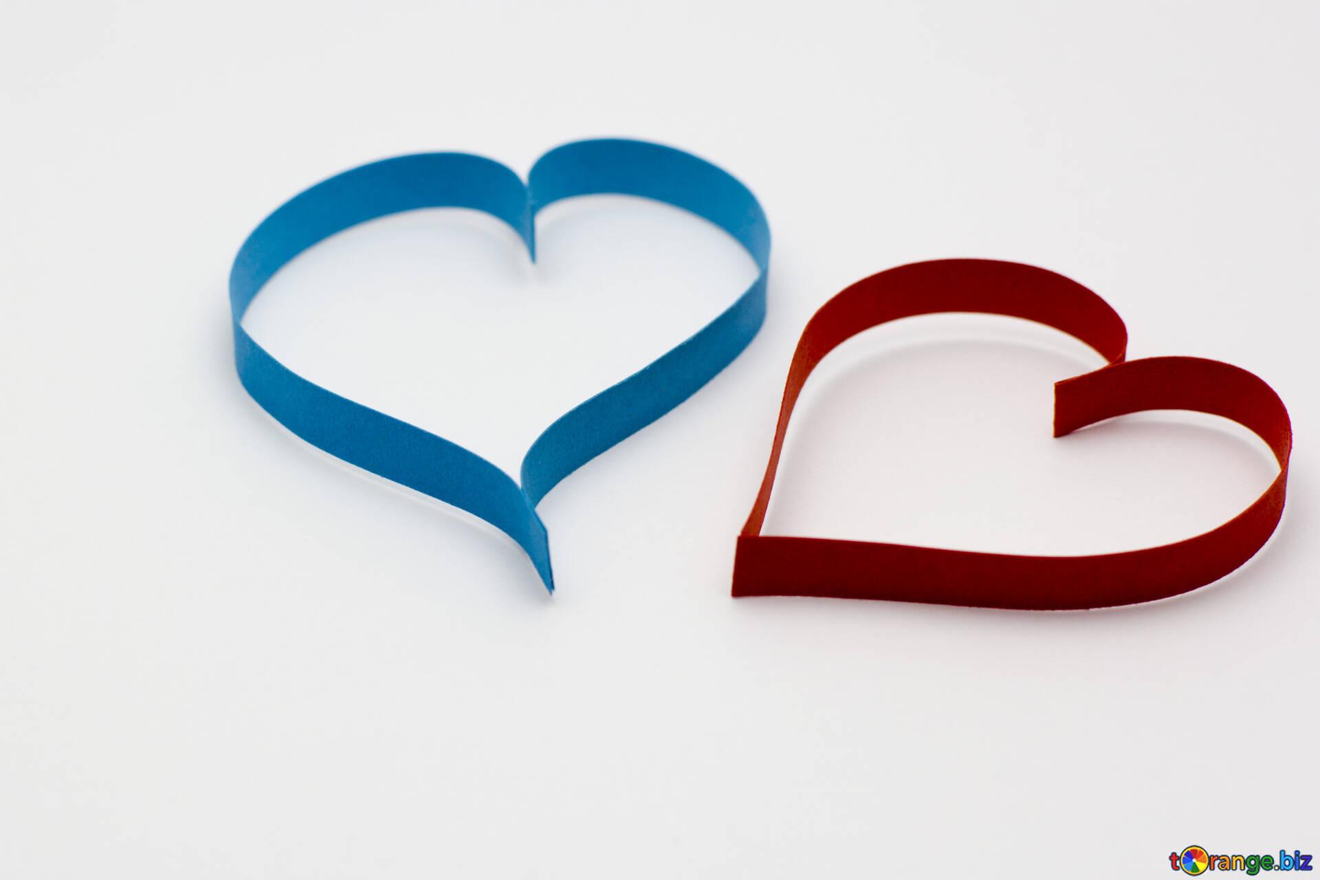 Paper Heart Different Heart Heart 16760