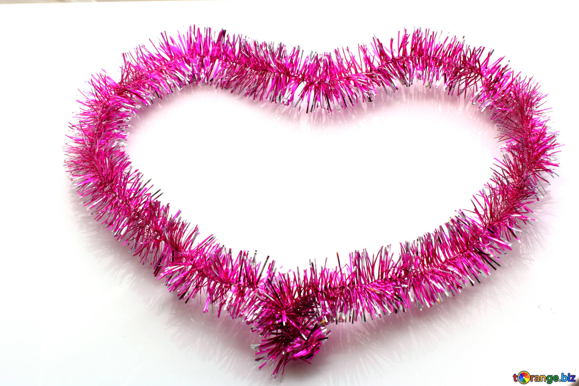 Heart of rope heart love new year heart № 16375