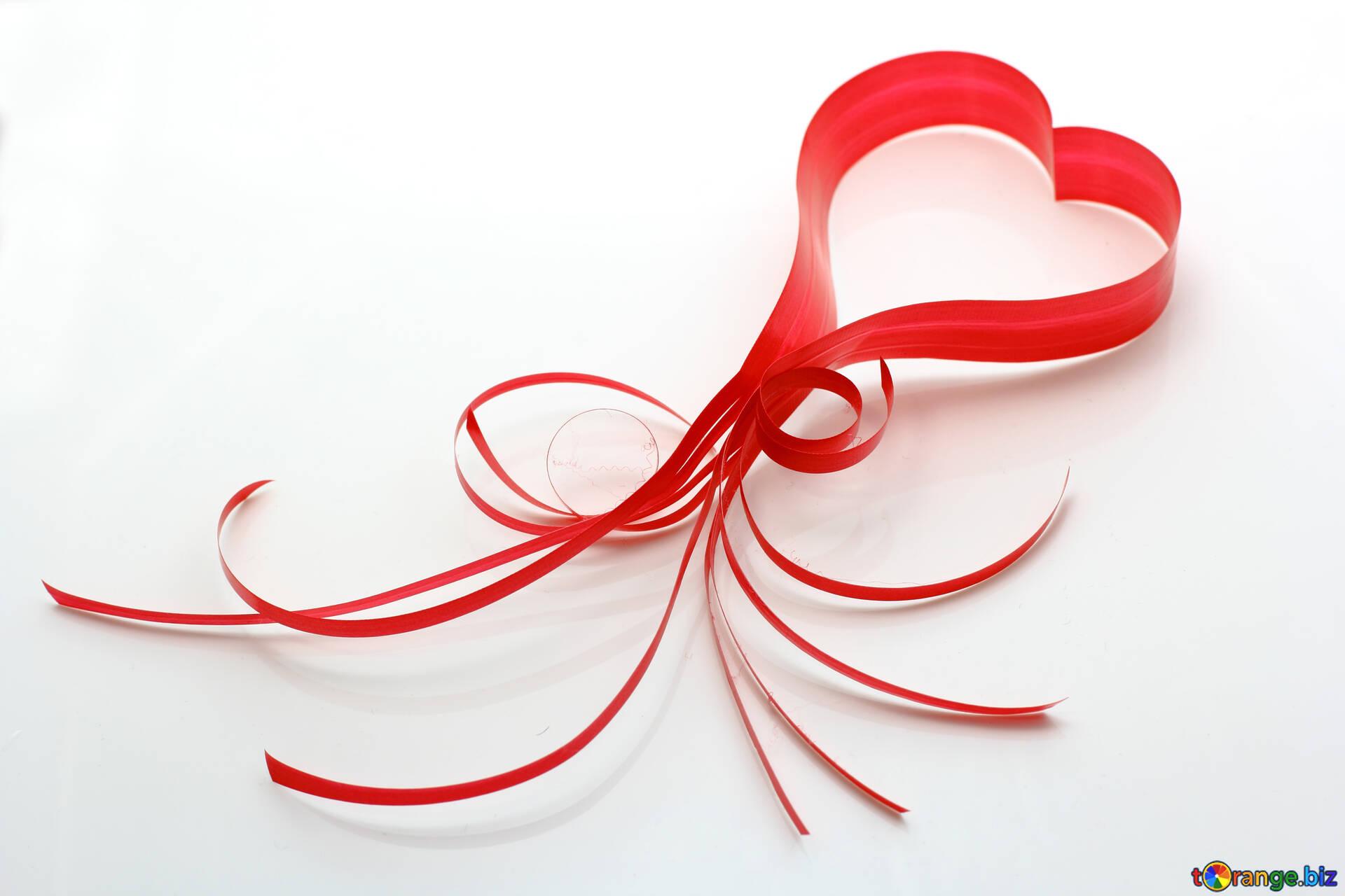 Heart Ribbon Love Letter Heart 16340