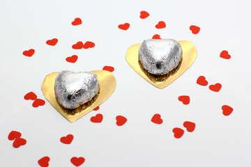 Süßigkeiten Herzen №16448