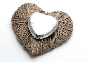 Chocolate heart №16433