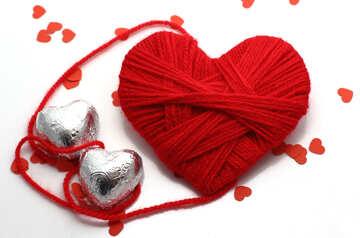 Herz mit Schokolade №16449