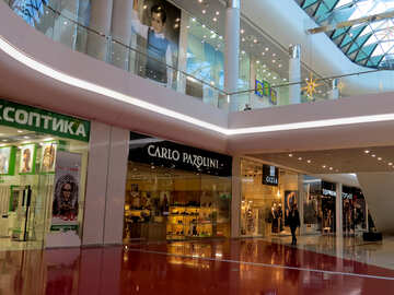 Boutiques in shopping center №16199