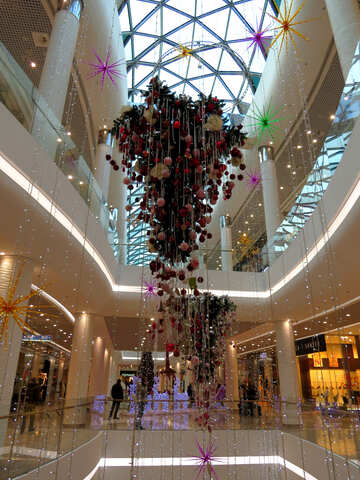 Christmas decoration store