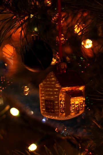Украшение рождественской елки №16523
