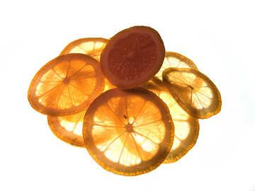 Sliced lemon №16143