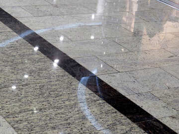 Texture of gray tiles №16197