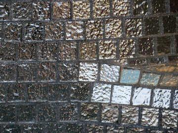Texture mirror tiles №16585