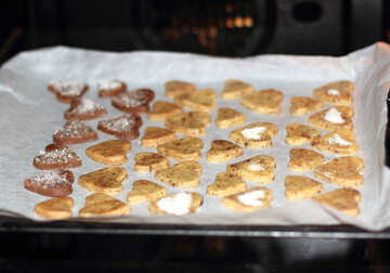 Bake cookies in the oven №16662