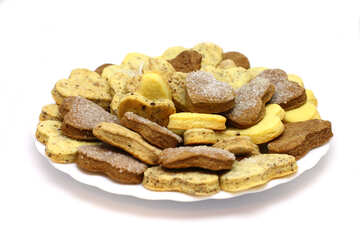 Cookies on plate №16655