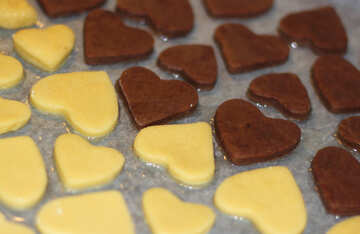 Cookies in the shape of heart №16670