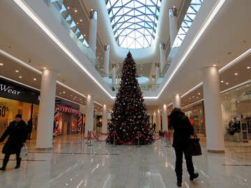 Christmas tree in the mall №16234