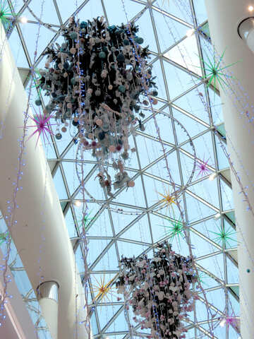 Christmas trees upside down №16293