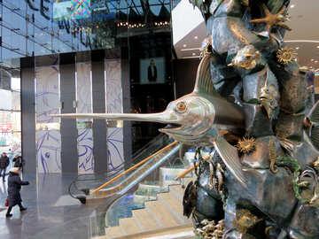 Escultura de los peces №16551