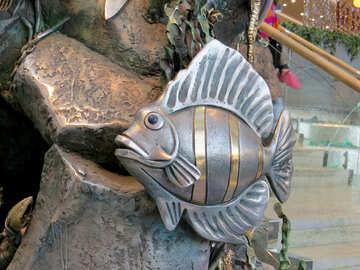 Fish metal №16560