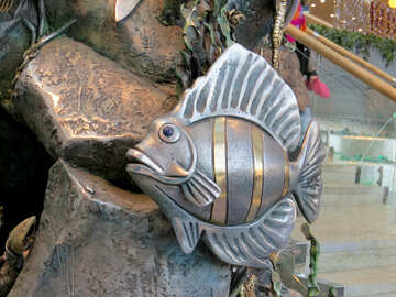 Pesce metallo №16560