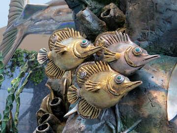 Fish metal №16561