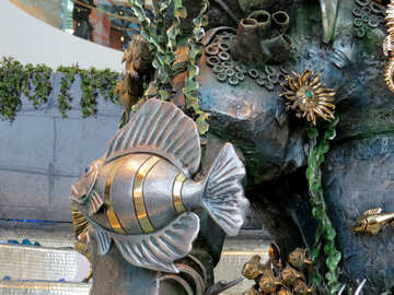 Metal fish №16568