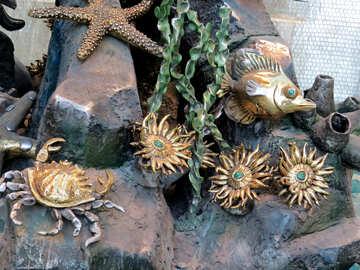 Metal marine animals №16566