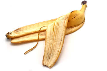 The skin of banana №16352