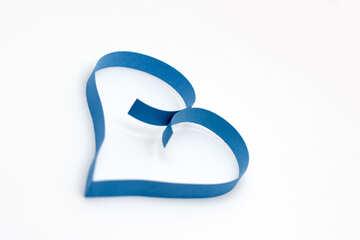 Cuore blu №16720