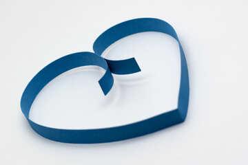 Cuore blu №16722