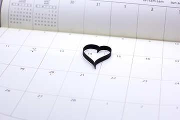 Heart Calendar №16749