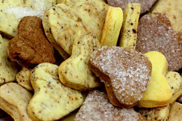 Biscuits pour la Saint Valentin
