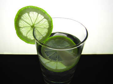 Lemon in glass №16123
