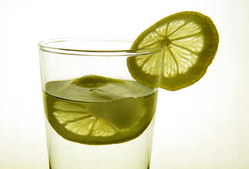 Lemon in glass №16127