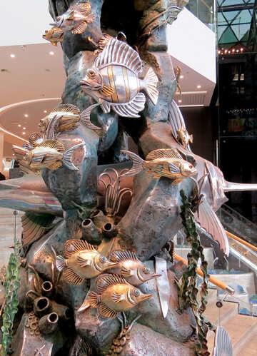 Sculpture nautical theme №16556