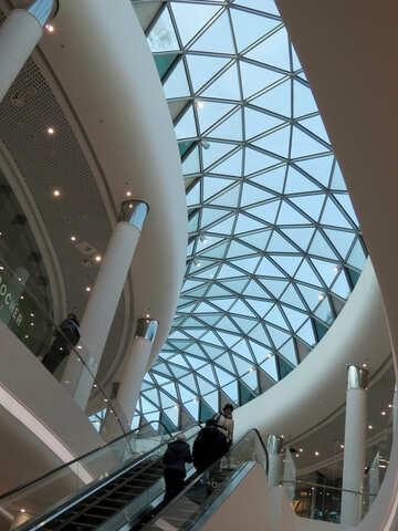 Transparent roof №16273