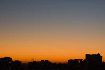 Cielo del atardecer №16055