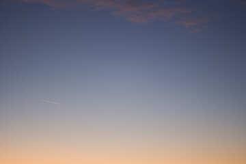 Cielo al tramonto №16064