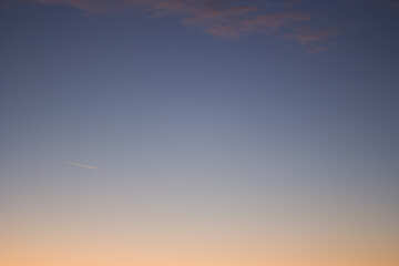 Sunset sky №16064