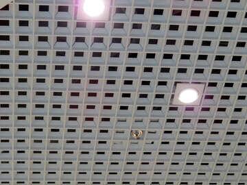 Texture ceiling squares №16193