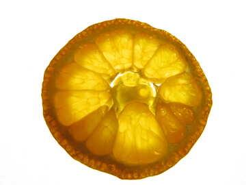 Texture cut mandarin №16643